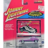 2001 Playing Mantis Johnny Lightning The Lost Toppers Series A K B Exclusive Skinni Mini Green Chrome Custom Wheels 1:64 Scale Die Cast W/ Collector Card Out Of Production New Mint Rare Limited Edition Collectible