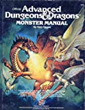 Advanced Dungeons and Dragons Monster Manual (0880380527) by Gygax, Gary