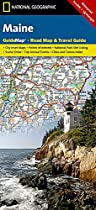 Maine state guide map ng (r) wp (National Geographic GuideMaps)