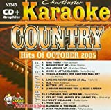 echange, troc Karaoke - Chartbuster Karaoke: Country Hits of October 2005