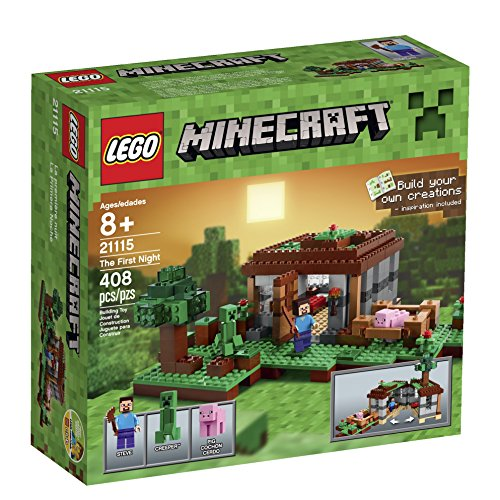 New LEGO Minecraft 21115 First Night