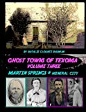 Ghost Towns of Texoma Volume Three - Martin Springs and Mineral Springs: The Lost Towns of Grayson County and Pottsboro Texas (Volume 3)