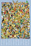 GB eye 61 x 91.5 cm the Simpsons Cast 2012 Maxi Poster