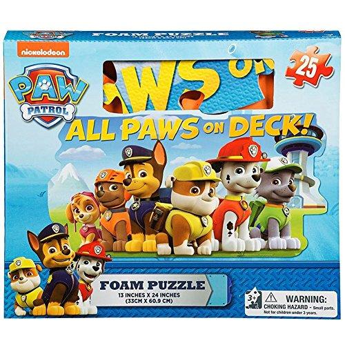 Paw Patrol Foam 25 Piece Floor Puzzle by Cardinal