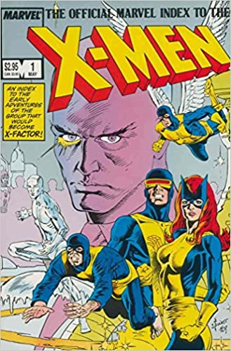 X-Men The Official Marvel Index #1  by George Olshevsky; John Romita Jr.