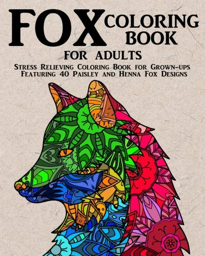 Download Fox Coloring Book for Adults: Stress Relieving ...