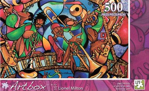 ArtBox 500 pc Puzzle Jazz Balcony