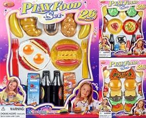 Haberkorn 261336 26 tlg lebensmittel set fur spielkuche for Spielküche zubeh r