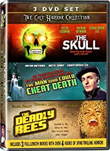 The Cult Horror Colection - 3DVD SET! - The Skull, The Man Who Could Cheat Death, & The Deadly Bees