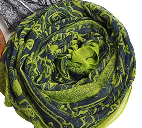helan-womens-fashion-long-slik-scarves-travel-wrap-floral-silk-scarves-bohemia-green