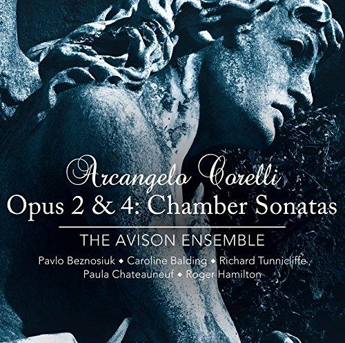 SACD : CORELLI / AVISON ENSEMBLE - Opus 2 & 4: Chamber Sonatas (2 Discos)