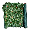 Siepe artificiale evergreen edera for Finta edera per balconi