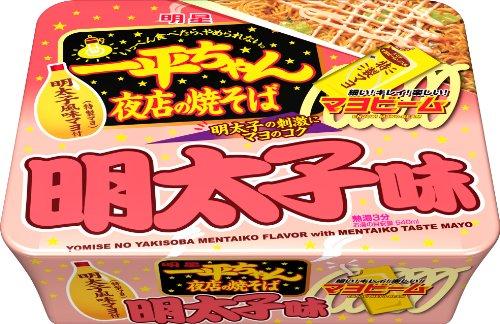 124g12 pieces mein cod roe taste of stalls Myojo Ippei-chan...