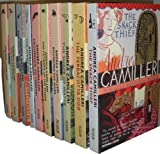 Andrea Camilleri Andrea Camilleri Montalbano Collection 10 Books Set (August Heat,The Paper Moon,The Voice of the Violin,The Scent of the Night,Excursion to Tindari,The Patience of the Spider,Rounding the Mark, The Shape of Water, The Terracotta Dog, The