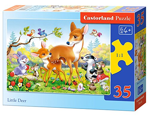 Castorland Little Deer Midi Jigsaw (35-Piece)
