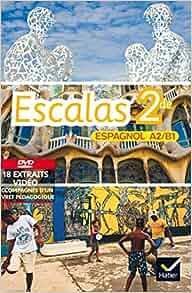 Escalas Espagnol 2de éd. 2014 - DVD vidéo + livret d'accompagnement
