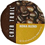 Caza Trail Coffee, Kona Blend, 50 Single Serve Cups