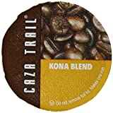 Caza Trail Kona Blend, 50-Count Single Serve Cup for Keurig K-Cup Brewers