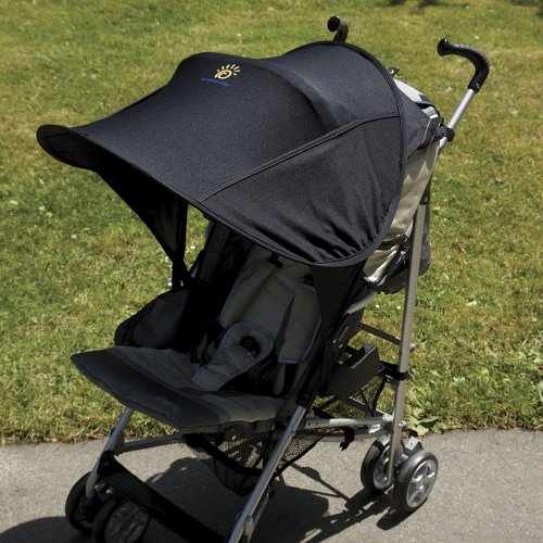 Sunshine Kids Shade Maker Canopy For Strollers, Black (Discontinued by Manufacturer)