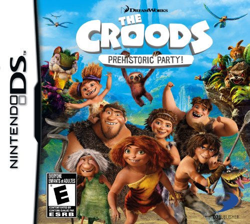 The Croods: Prehistoric Party! - Nintendo DS - 1