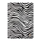 Mary Collection Portfolio Standing Case for Hannspree T7 Series 10.1 Tablet (Zebra)