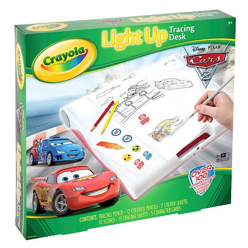 Crayola Light Up Tracing Desk - Disney Pixar Cars 2