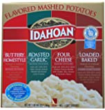 Idahoan Flavored Mashed Potatoes (12 Pouches) Variety Pack