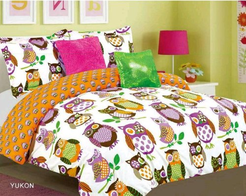 Full Size Owl Bedding 9538 front