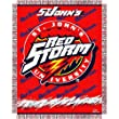 "Saint John's Red Storm Triple Woven Jacquard NCAA Throw (017 Focus) (48x60"")"""