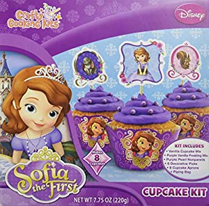 Disney Sofia the First Royal Cupcake Kit