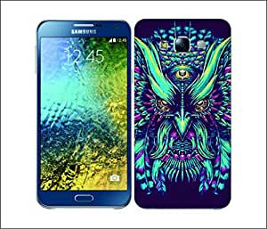 Galaxy Printed 1627 ETHNIC OWLS BPNK Hard Cover for Samsung GRAND NEO