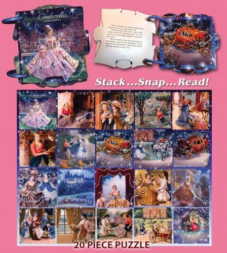 White Mountain Puzzles Cinderella Puzzlebook - 1