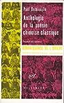 Anthologie de la po�sie chinoise clas...