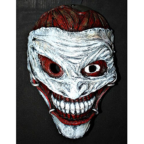 1:1 Custom Halloween Costume Cosplay Movie Prop Batman Arkham Bane Joker Mask MA173