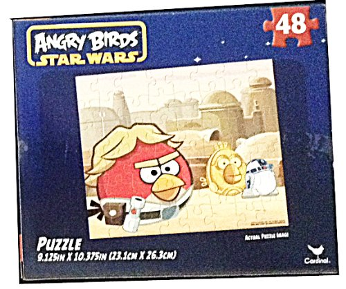 Rovio Angry Birds Star Wars Puzzle 48-piece (Orange Background)