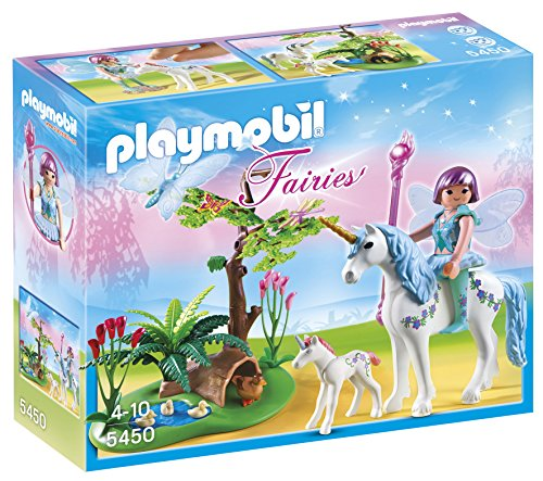 Playmobil-Fairies-5450-Fe-Aquarella-Avec-Licornes