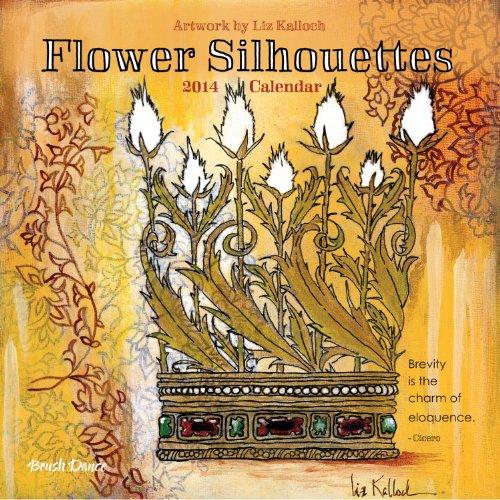 Flower Silhouettes 2014 Calendar