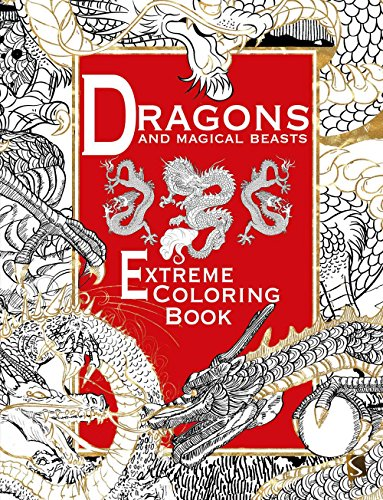 Dragons and Magical Beasts: Coloring Book