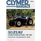 1987-1998 CLYMER SUZUKI ATV LT-4WD,