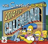2014 The Simpsons Mini Calendar