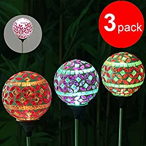 solar powered outdoor christmas light balls