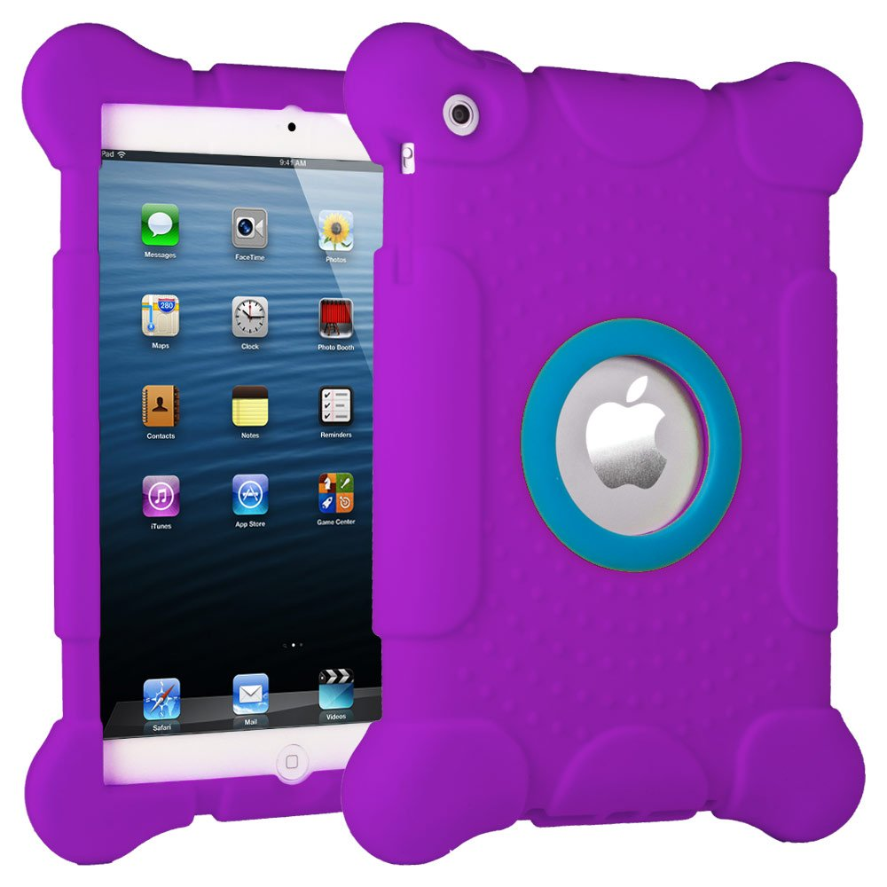HHI iPad mini Kids Fun Play Armor Protective Case - Purple