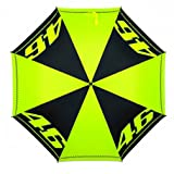 Valentino Rossi VR46 Moto GP Logo Large Umbrella Official 2018 (Color: Yellow, Tamaño: One Size)
