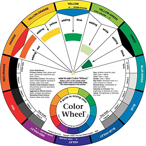 """Color Wheel 9-1/4""""- front-83640"""