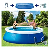 Wehncke 12473 Quick Up Pool Set, 450 x 106 cm bestehend aus ...