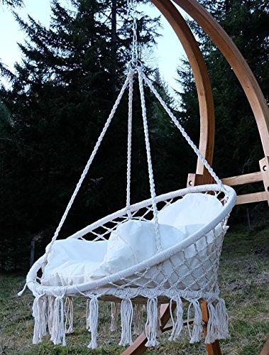 DESIGN-Hngesessel-Stoffsessel-Schwebesessel-CATALINA-mit-Kissen-ohne-Holzgestell-von-AS-S