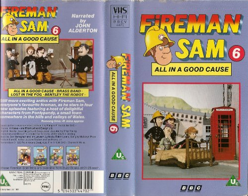 Fireman Sam 6 All In A Good Cause Vhs At Shop Ireland