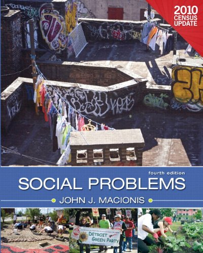 Social Problems, Census Update Plus MySocLab with eText -- Access Card Package (4th Edition)