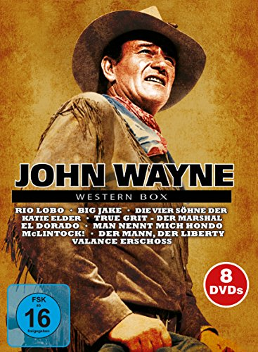 John Wayne Western Box [8 DVDs]