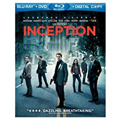 Inception (Two-Disc Blu-ray/DVD Combo + Digital Copy): Leonardo DiCaprio, Ken Watanabe, Christopher Nolan